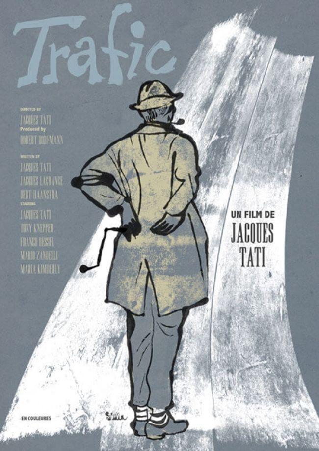Jacques Tati - Trafic (foto mubi.com)