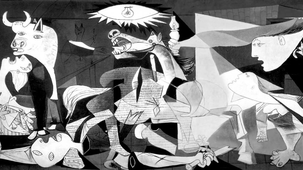 Pablo Picasso – Guernica (foto Museo Reina Sofia, Madrid)