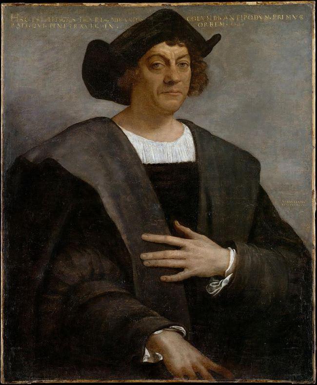 Christopher Columbus 1450-1506 (foto The Tap)