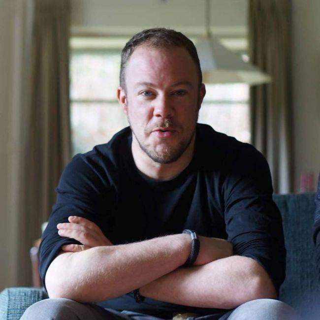 Frederik Harmen ziet er ovolgens Jaap Holtzapffel een beetje uit als Leids gajes (foto Facebook)