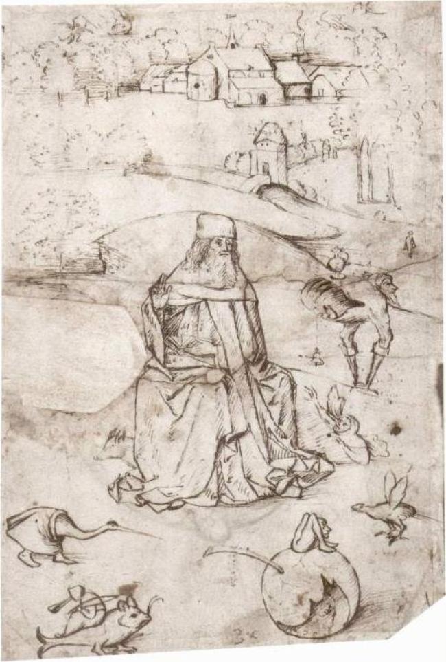 Jeroen Bosch -Verzoeking van de H. Antonius