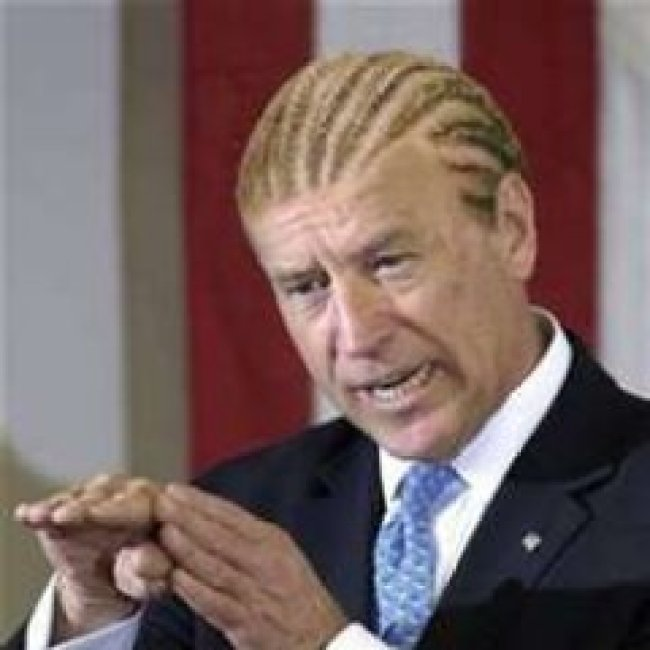 Black Joe Biden (foto Twitter)