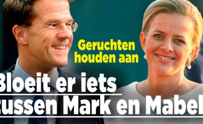 Bloeit er iets tussen Mark & Mabel (foto Ditjes & Datjes)
