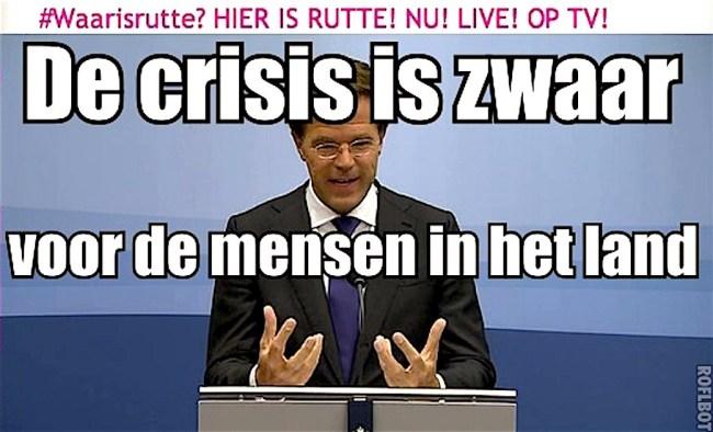 De crisis is zwaar voor de mensen in het land (foto GeenStijl)