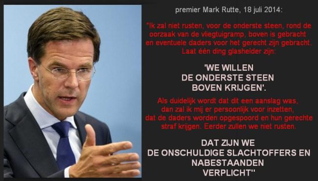 De valse beloftes van een Minister President (foto eunmask)