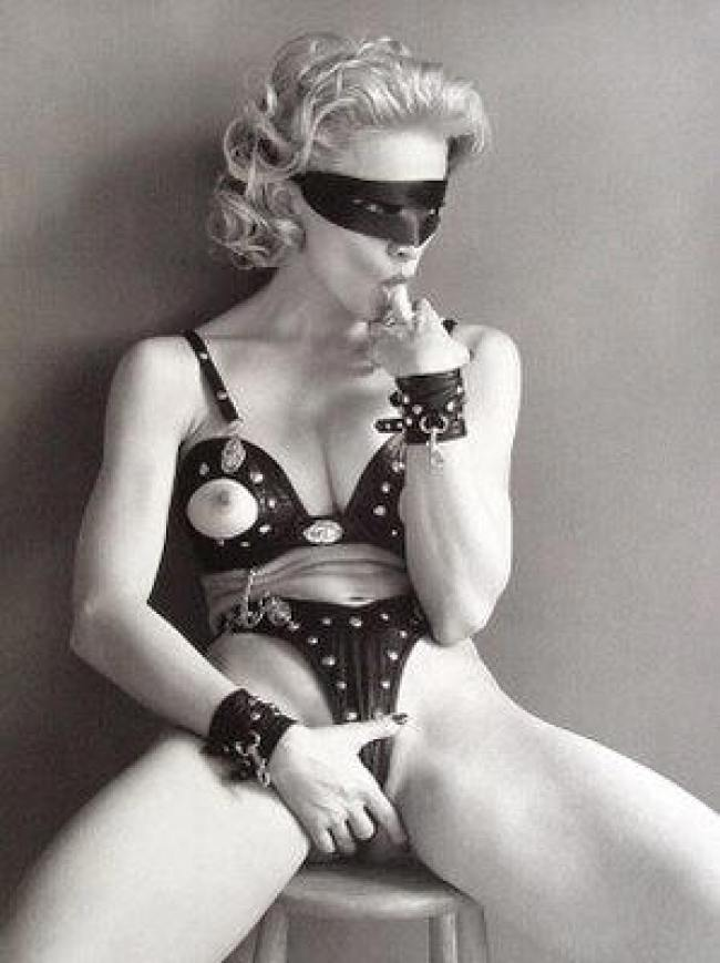 From the Madonna 'Sex' book (foto Steven Meisel)