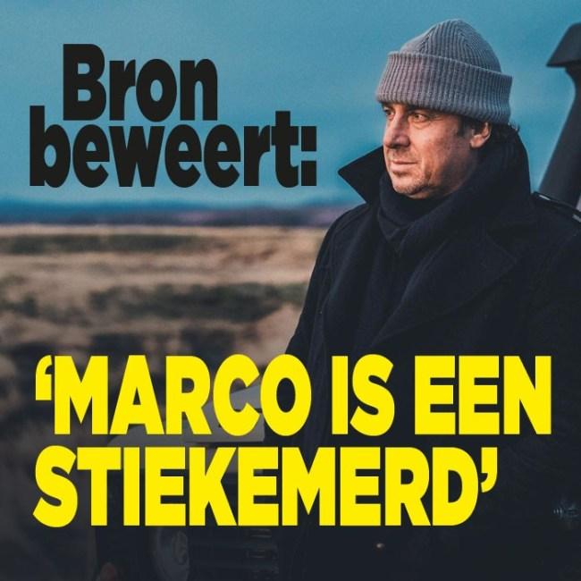 Marco is een stiekemerd (foto Privé)