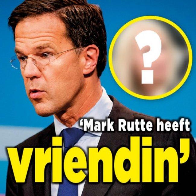 Mark Rutte heeft een vriendin (foto Ditjes en Datjes)