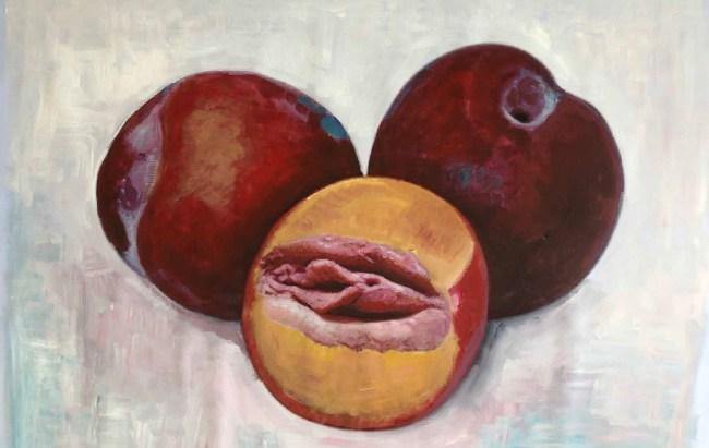 Peter Klashorst - Strange Fruit (foto Facebook)