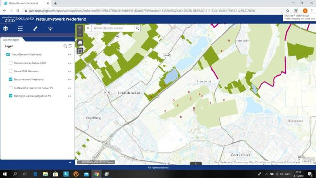 Provincie Zuid Holland NatuurNetwerk Nederland (foto Facebook)