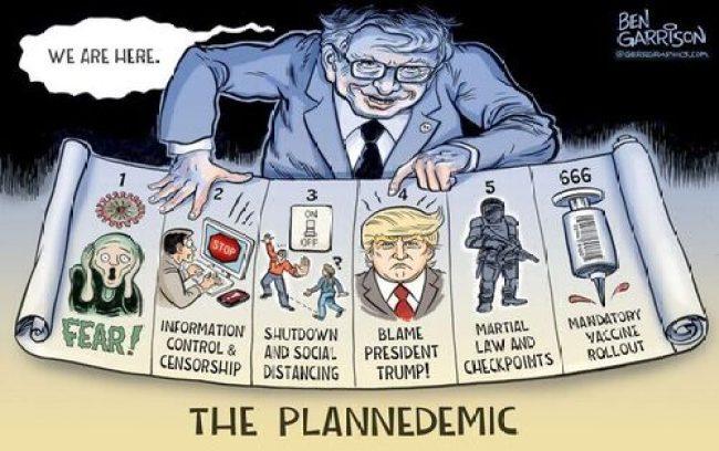 Ben Garrison - The Plandemic