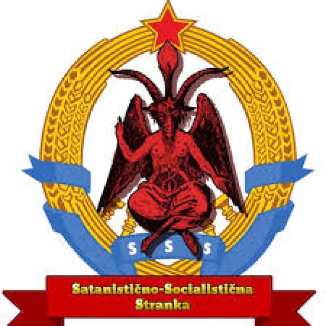 Communism = Satanism (foto henry makov)