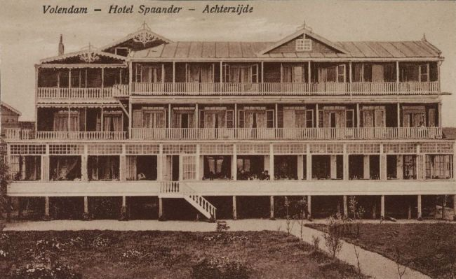 Hotel Spaander Achjterzijde (foto Oneindig Noord Holland)