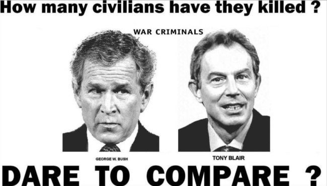 How many civilians they killed?Dare to compare (foto YouTube)