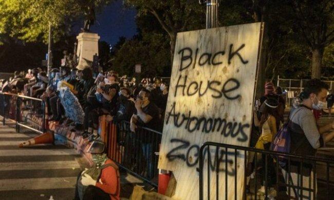 Black House Autonomous Zone (foto Twitter)