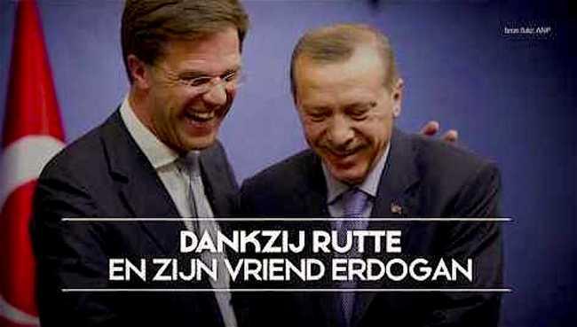 Dankzij Rutte en zijn vriend Erdogan (foto YouTube)