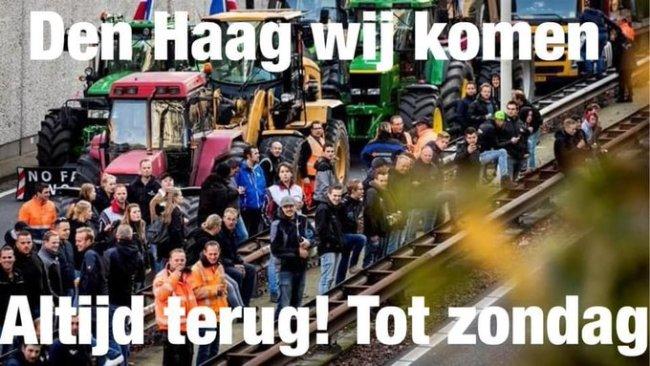 Den Haag wij komen altijd terug (foto Twitter)
