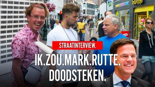 IK.ZOU.MARK.RUTTE.DOODSTEKEN (foto RUMAG.TV)
