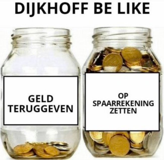 Klaas Dijkhof Be Like (foto Twitter)