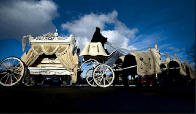 Lijkwagen Cor van Hout (foto Vrijmoed crime blog)