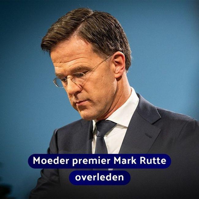 Moeder premier Rutte overleden (foto Picuki)