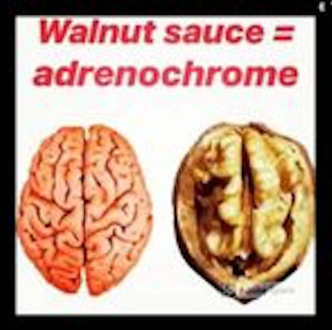 Walnut sauce = Anchenochrome (foto Pinterest)