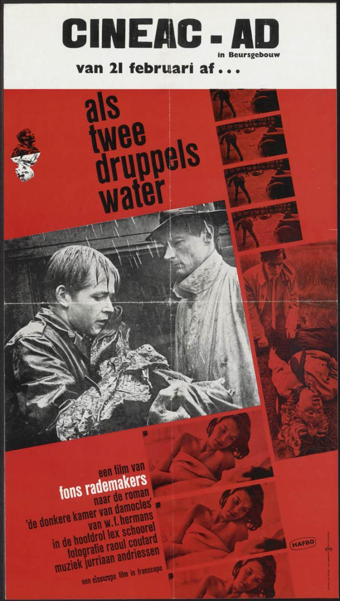 Fons Rademakers – Als twee druppels water (foto FilmAffinity)