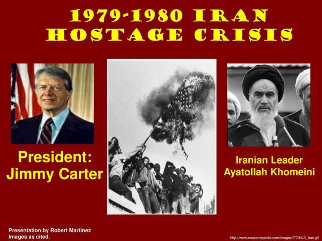 Iran Hostage Crisis President Jimmy Carter Iranian Leader Khomeini (foro Slideplayer)