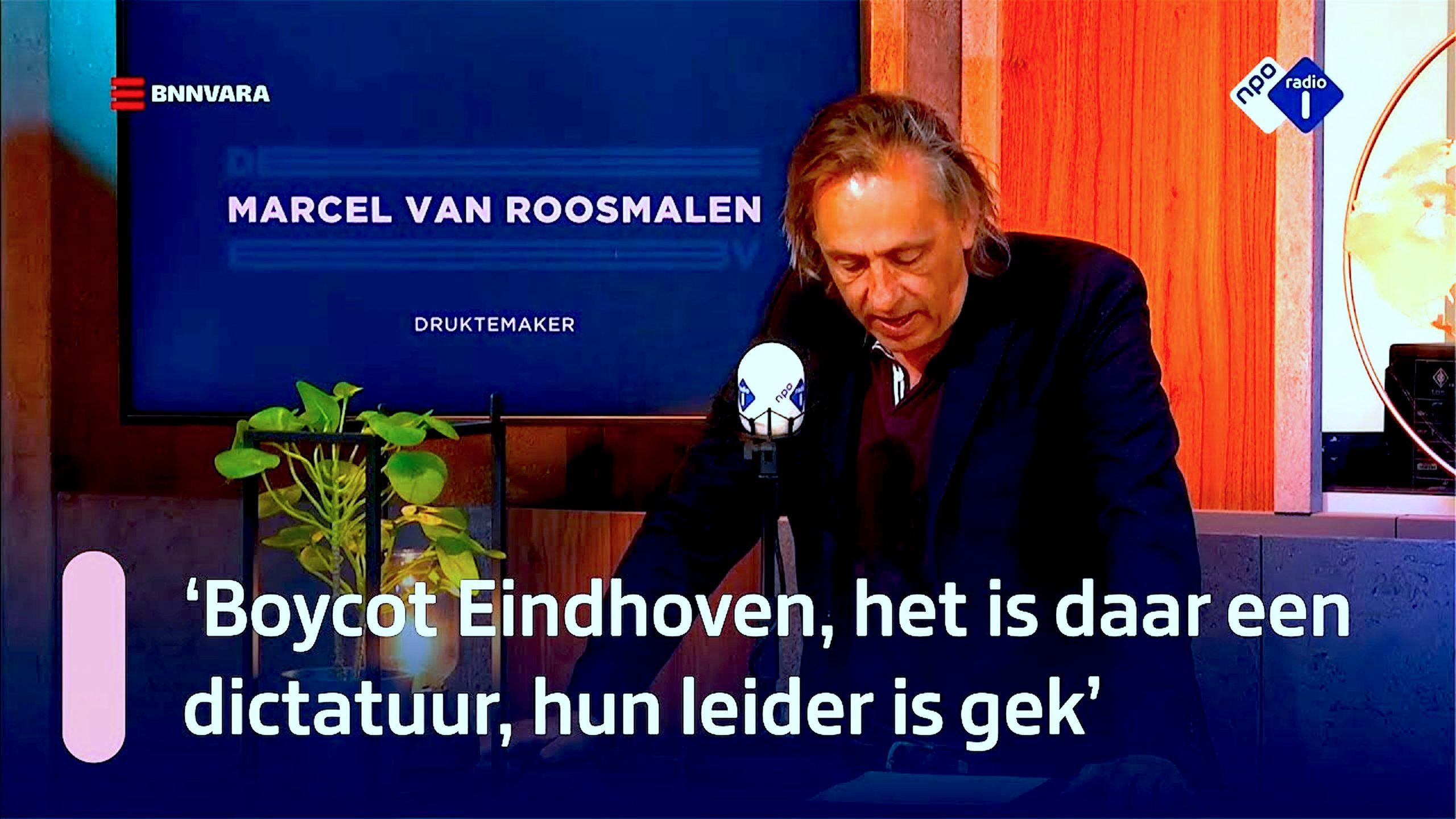 Boycot Eindhoven, het is daar een Dictatuur, hun Leider is Gek (foto YouTube)