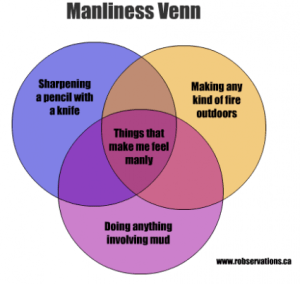 Robservations – the Blog of Robert Booth » Manliness Venn