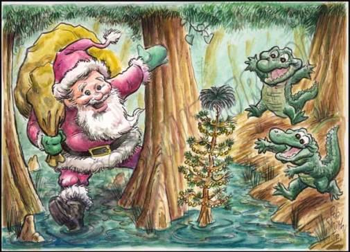 2009-1214-christmasinswamp