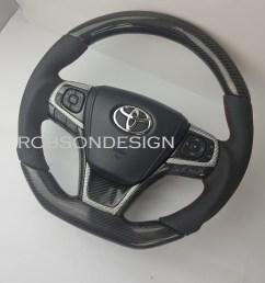 toyota camry harrier carbon fiber steering wheel 2015 2016 2017 [ 1147 x 1322 Pixel ]