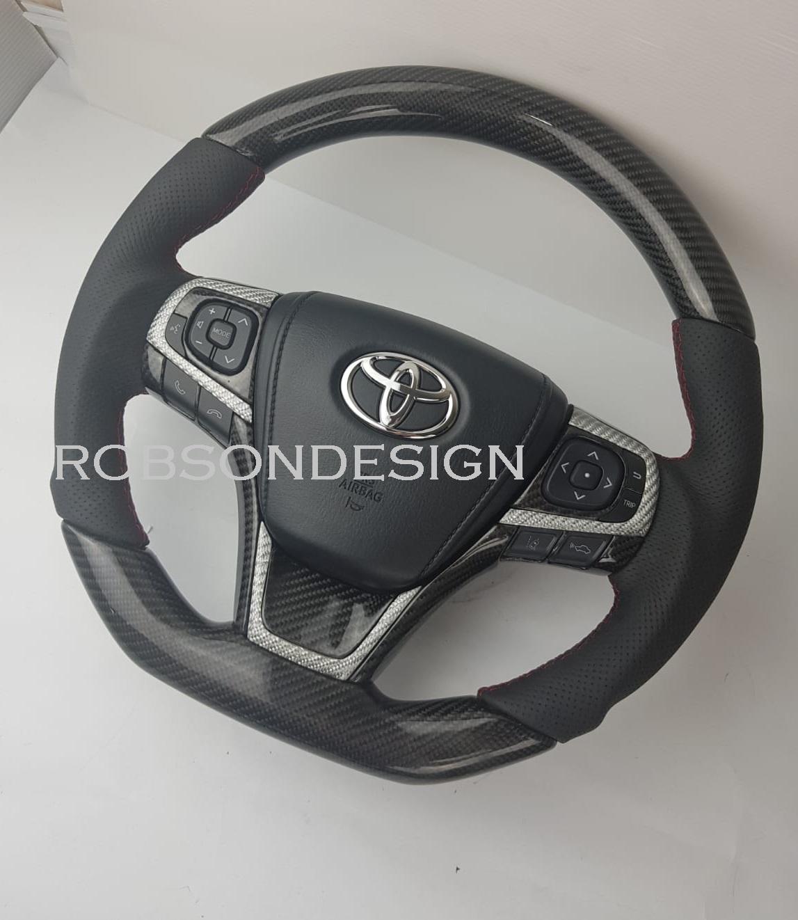 hight resolution of toyota camry harrier carbon fiber steering wheel 2015 2016 2017