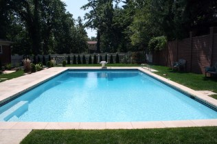 Swimming Pool Custom Swimming Pool Stone Coping Entry Steps Pool Bench Diving Board