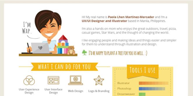 34 Currículos Criativos Para Você Se Inspirar