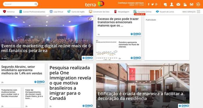 RD Summit 2016 na capa do Terra