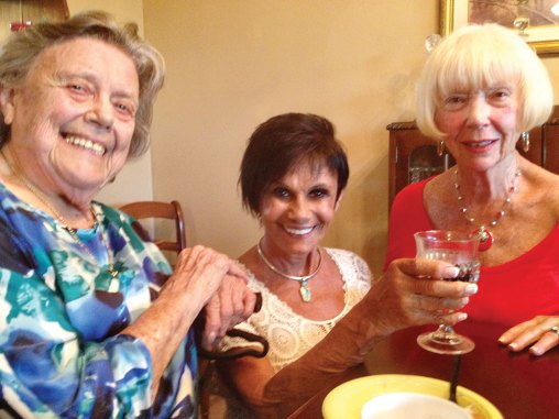 Left to right: Sue Wagner, Vickie Bone and Beverlee Deardorff