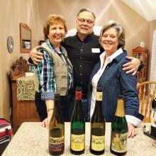 Joan and Chuck Newcomer with Jennifer Heinen