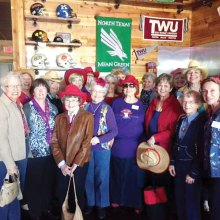 The Ladies With Hattitude at Dickey's in Denton