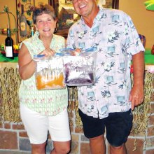 "Vicki and Scott Baker hosting a ""chilling"" night of wine"