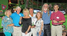 The Baby Boomers met in July at the Drunken Donkey.