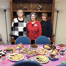 Marnita Torres, Darla Chupp and Nancy Burns at Borman Elementary
