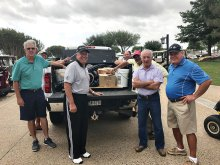 Golf equipment for the First Tee program