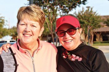 Event chair and co-chair Darlene Lamb and Cindy Sterling