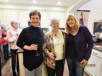 Ann Brehm, Alice Wright, Connie Griswold