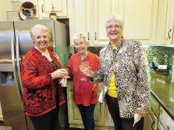 Pam Kanawyer, Linda Knightly, Althea Parent