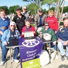 Kiwanis Clubbers seeking treasure hunters one garage sale at a time.