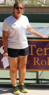 Director of Desert Cactus Tennis League, Orly Mayron