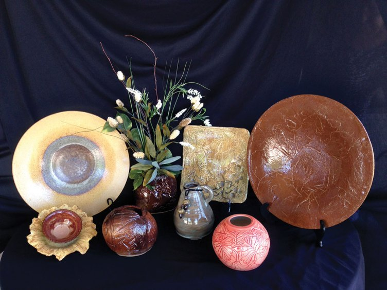 Pottery will be on sale at the CAC on November 15.