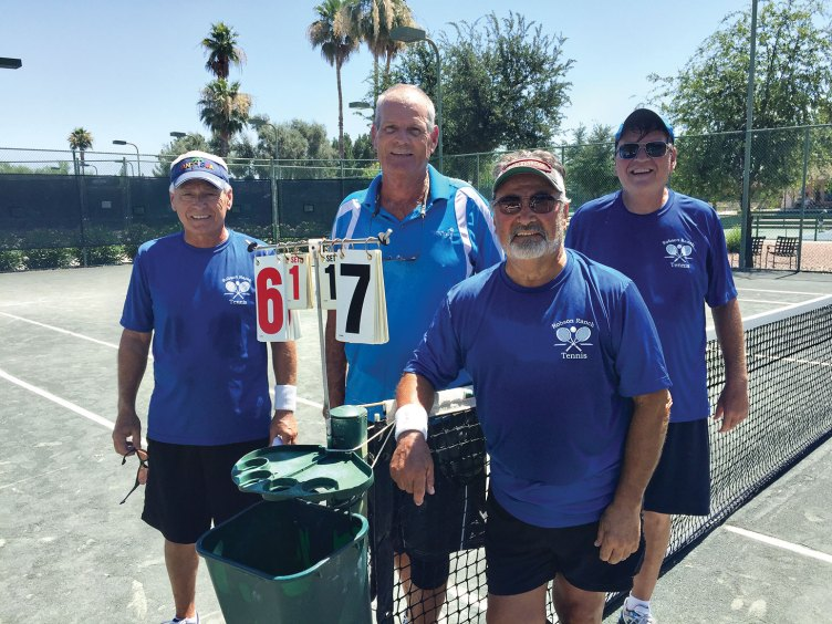 Second place tied: Andy Gayer, Eldon Lee, Stan Lukasik and Jim Sanford